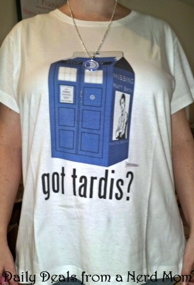 ShirtBattle.com Doctor Who review