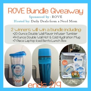 ROVE Eco-Friendly Products Giveaway {ends 2/9}